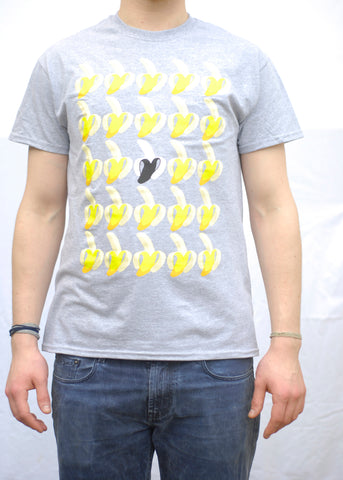 Bananas Grey T-Shirt