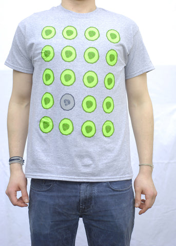 Cucumber Grey T-Shirt