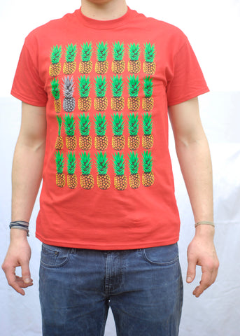 Pineapples Red T-Shirt