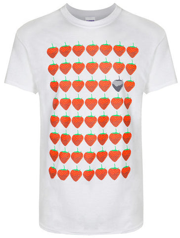 Strawberry White T-Shirt