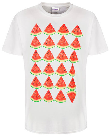 Watermelons White T-Shirt
