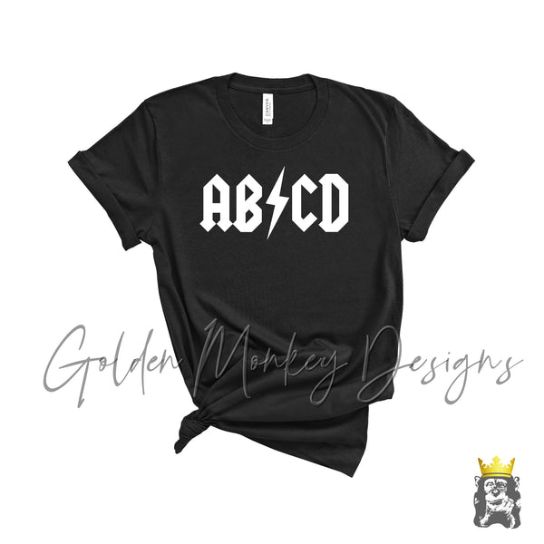 ABCD School Rock Inspired Shirt