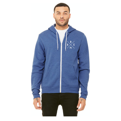 ARC - Aly's Run Club Zip Up Bella + Canvas Hoodie