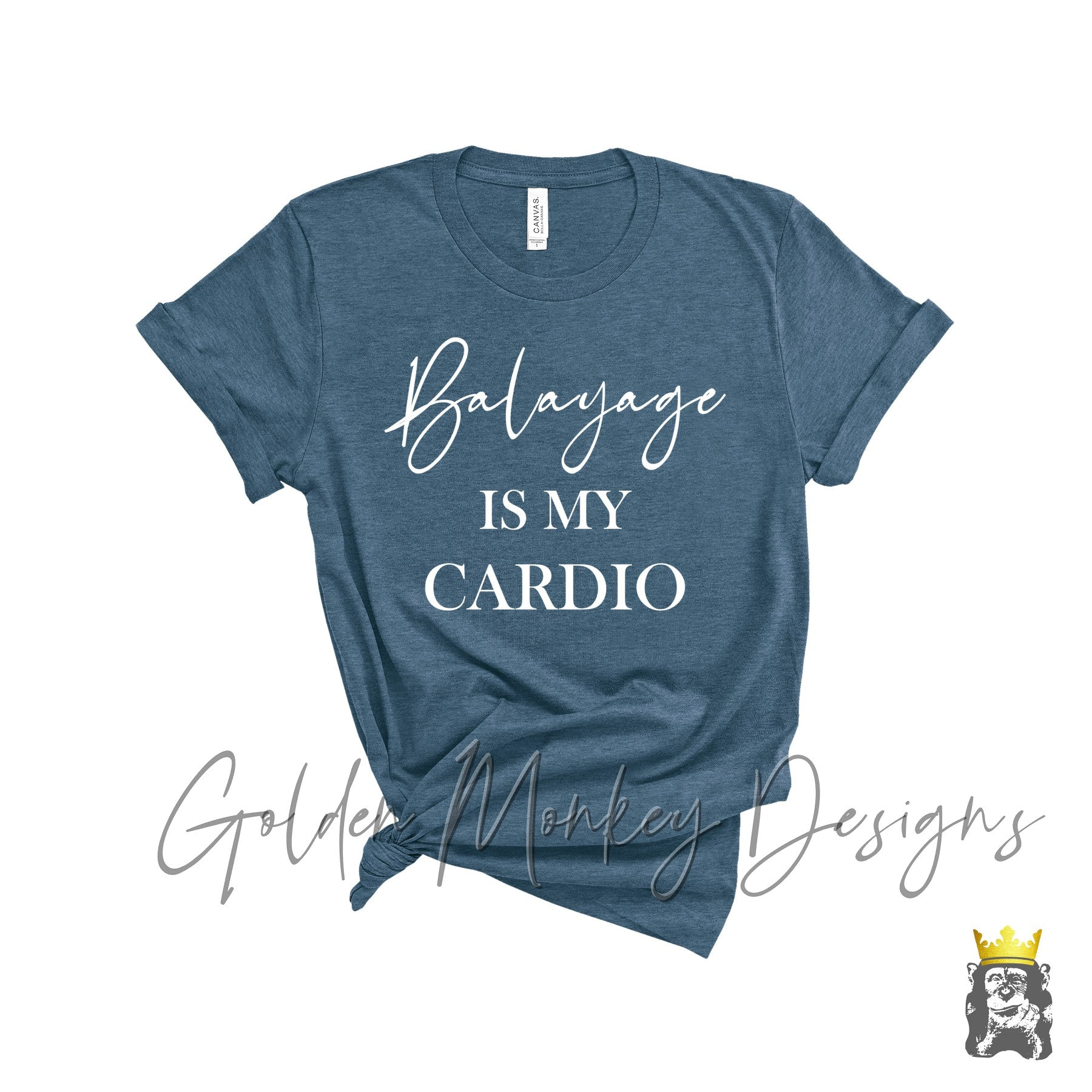 Balayage is My Cardio Funny Hairdresser Shirt