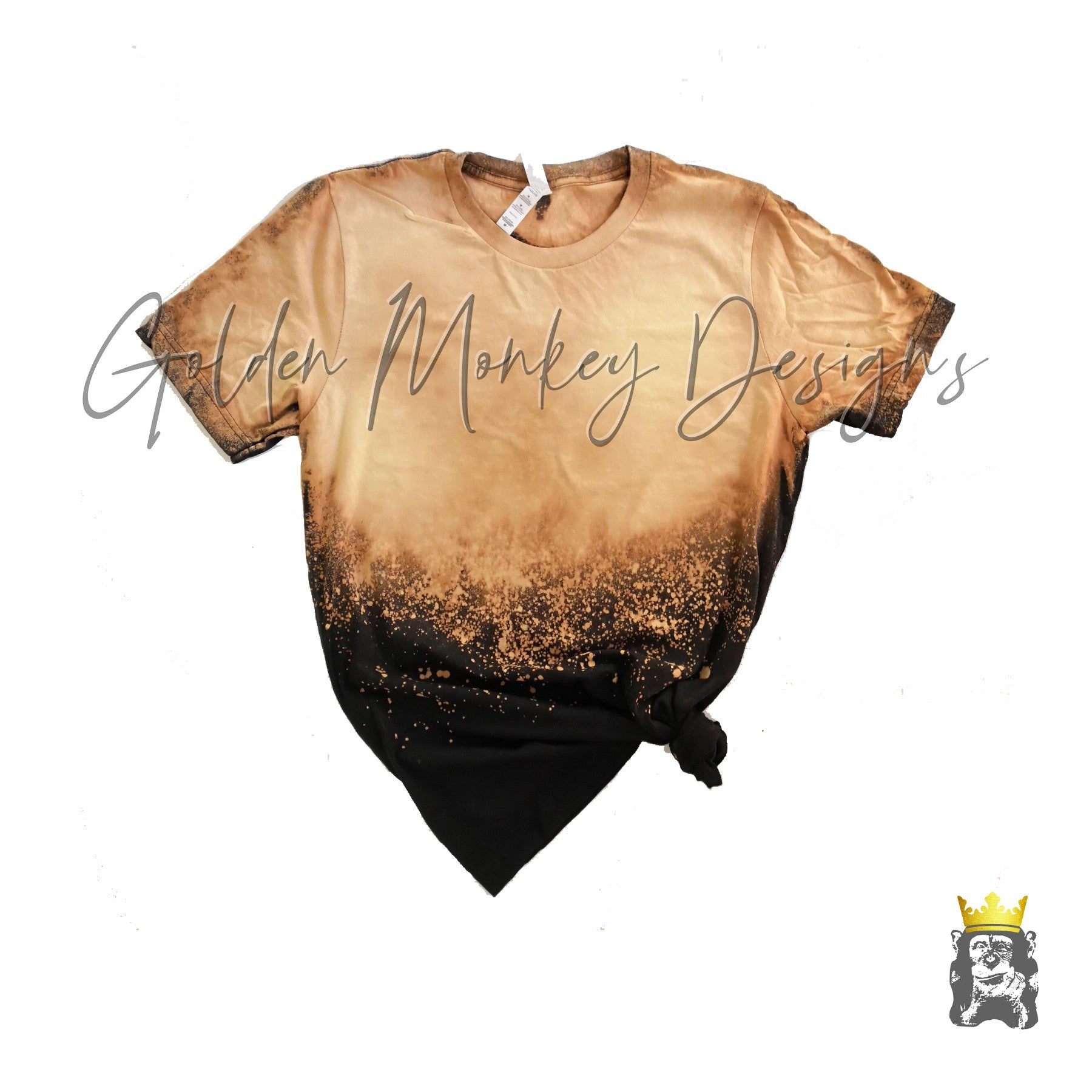 Mamacita on Bleached/Distressed Shirt