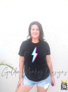 3D Lightning Bolt Shirt
