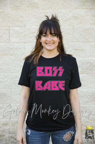 Boss Babe Rocker Shirt