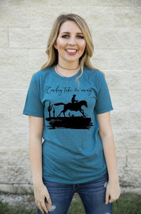 Cowboy Take Me Away / 90s Country / Inspired Shirt