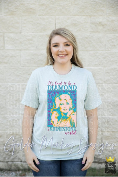 It's Hard to be a Diamond in a Rhinestone World