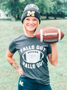 Falls Out Balls Out Football Shirt