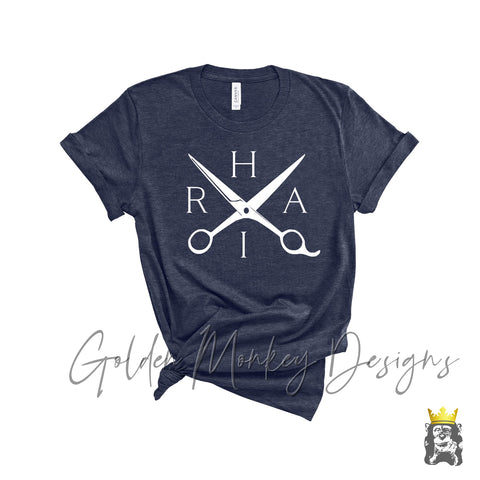 Hair Scissors Hairdresser Shirt