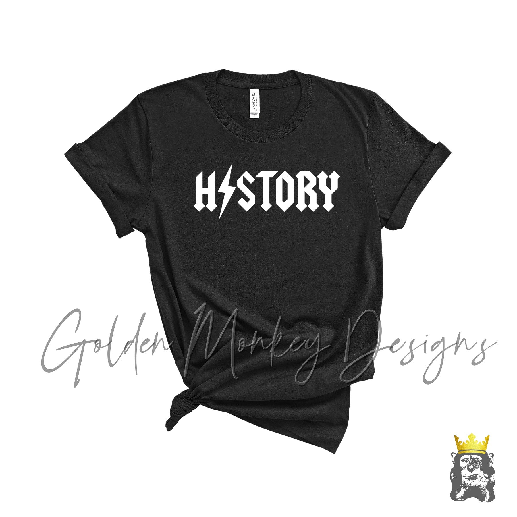 HISTORY School Rock Inspired Shirt