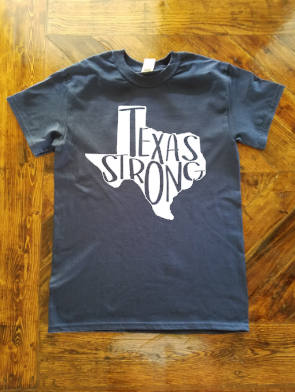 Texas Strong  #texasstrong - Hurricane Harvey Relief Shirt