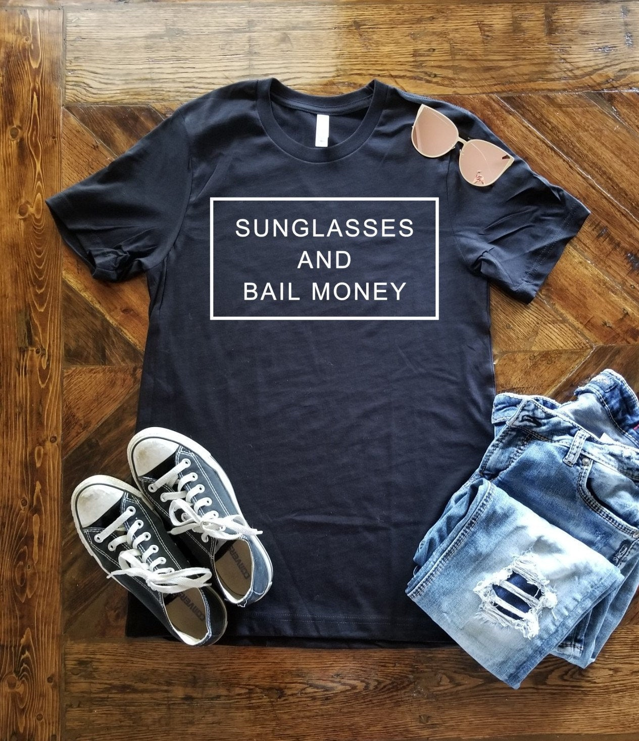 Sunglasses and Bail Money