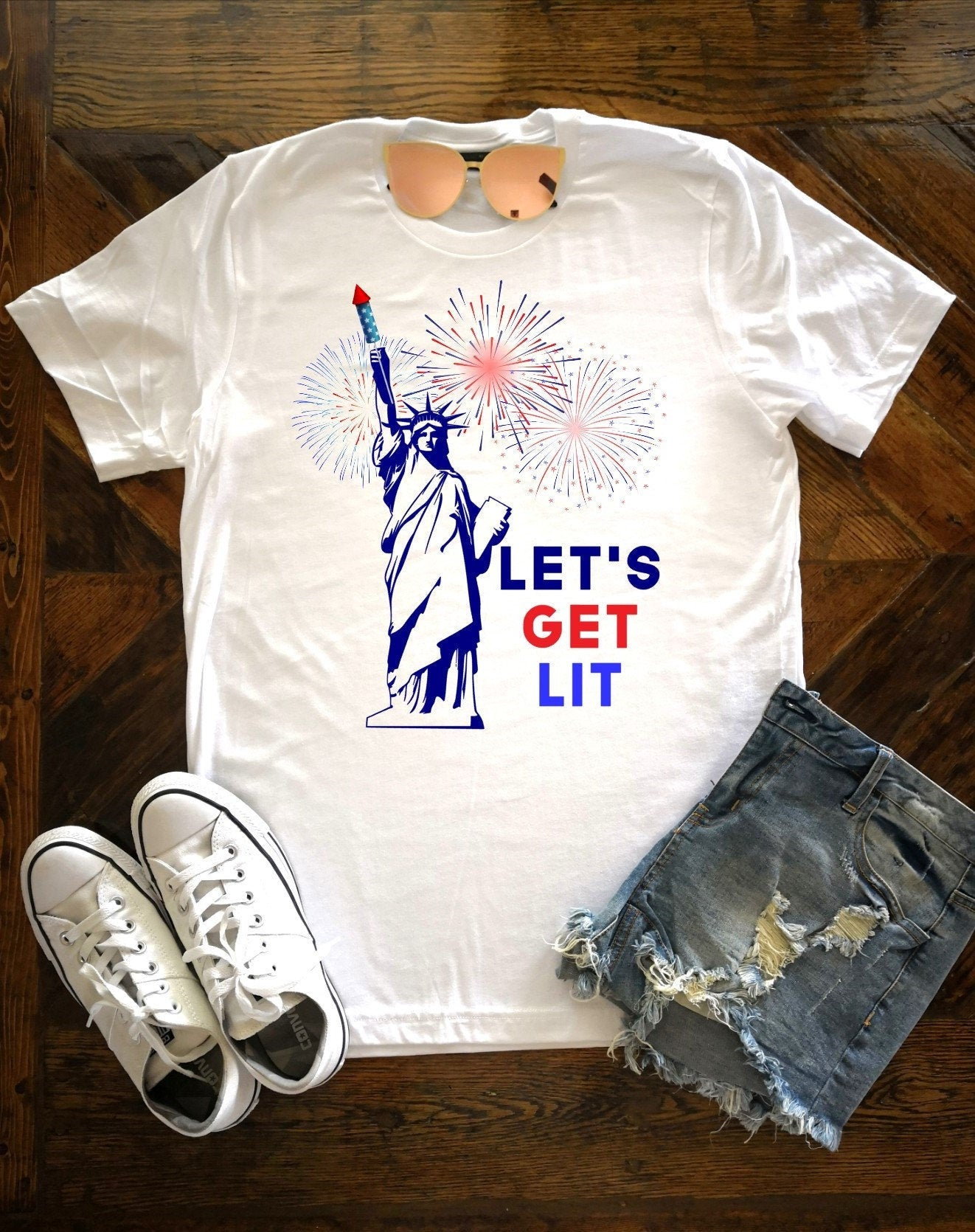 Let's get lit Statue of Liberty
