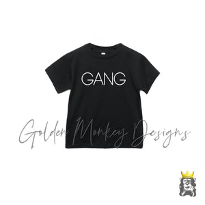 Gang - Savage Mommy and Me Kids Shirt
