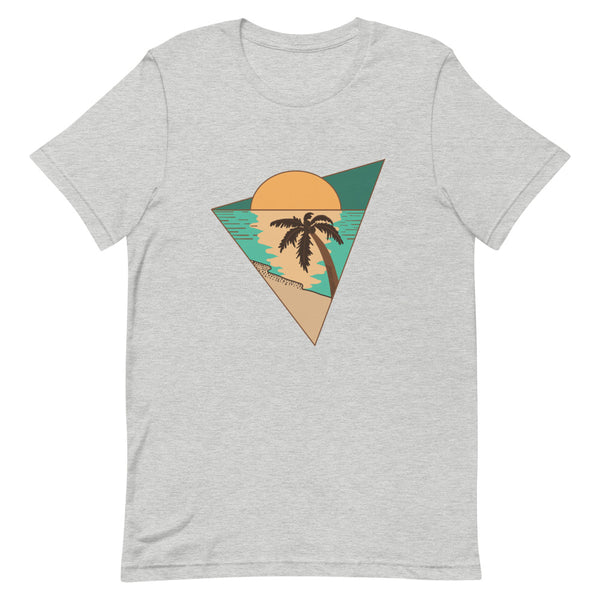 Palm Tree Sunset Triangle