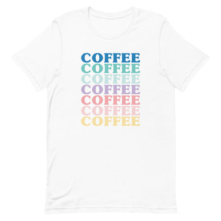 White Coffee Shirt
