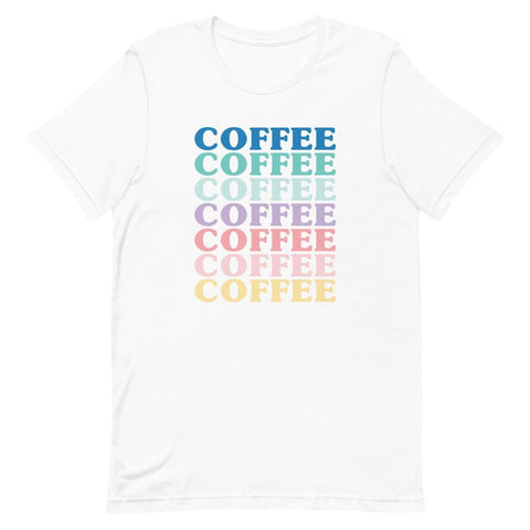 Colorful Coffee Shirt
