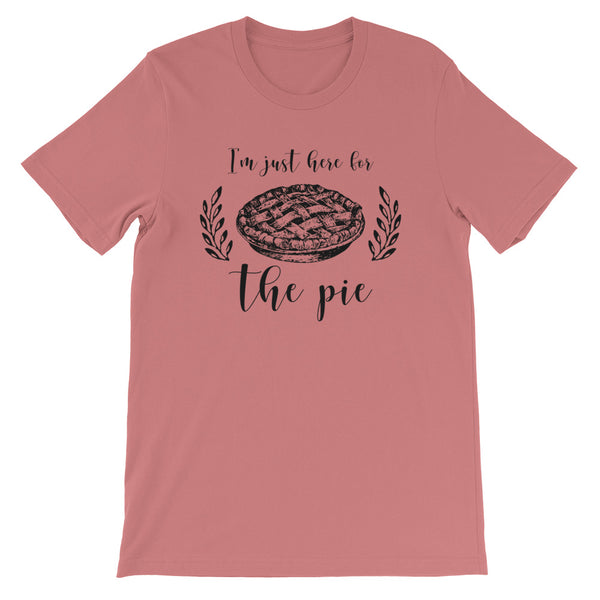I'm just here for the pie