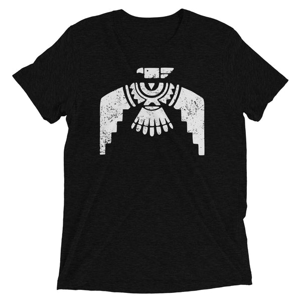 Aztec Thunderbird Triblend  Tee Distressed