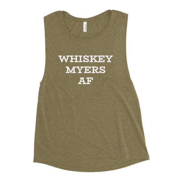 Whiskey Myers Af Muscle Tank