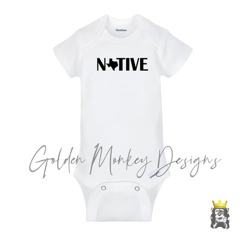 Native Texan Bodysuit