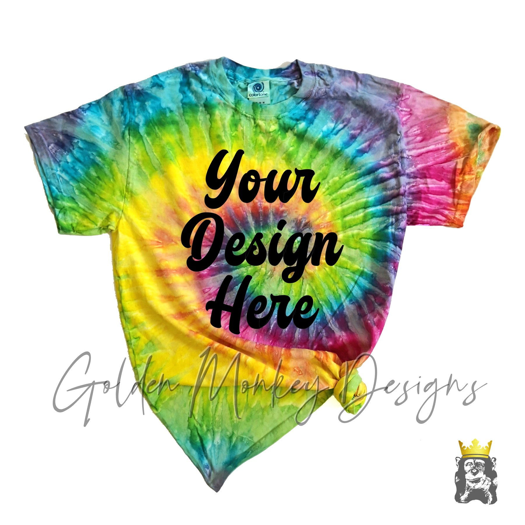Custom Design on Tie Dye!