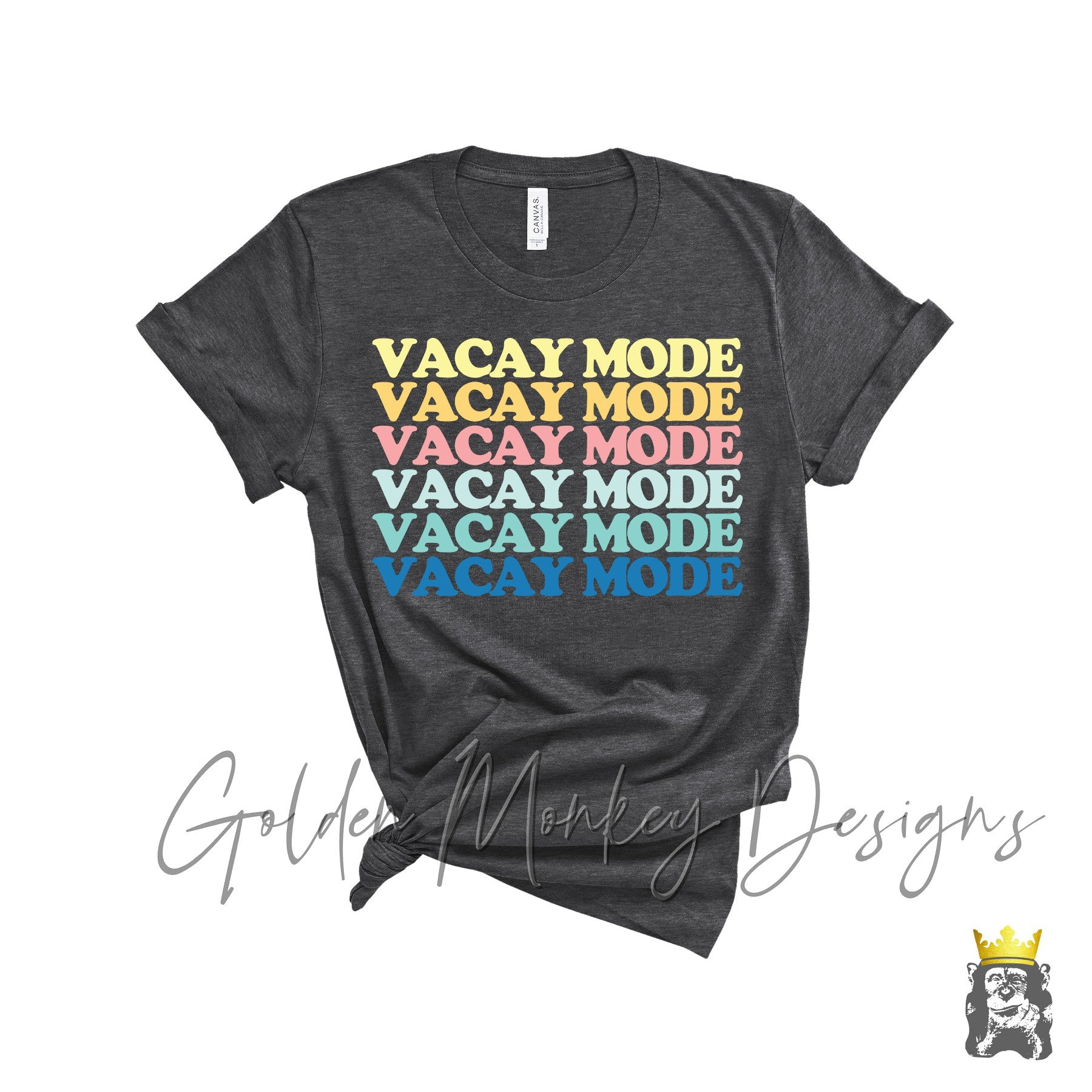 Vacay Mode T-shirt and Tank Options