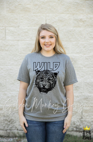 Wild Leopard Rock Inspired Shirt