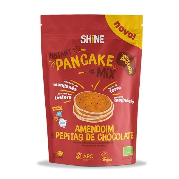 Mix Panquecas Shine Amendoim e Chocolate Bio Sem Glúten