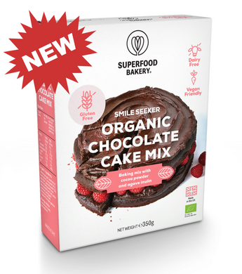 Mix Bolo de Chocolate Superfood Bakery Bio 350g