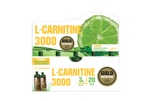 L-Carnitine 3000 Gold Nutrition Limão