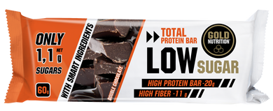 Barra Proteína Gold Nutrition Low Sugar Double Chocolate