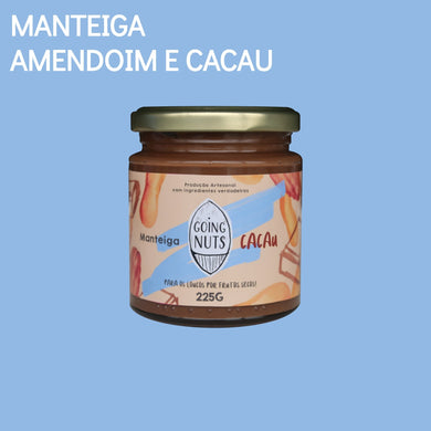 Manteiga Going Nuts Amendoim e Cacau