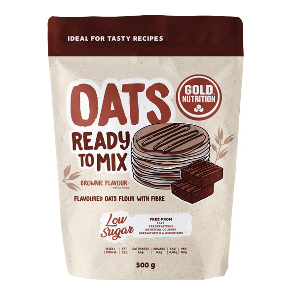 Oats Ready to Mix Gold Nutrion Brownie 500g