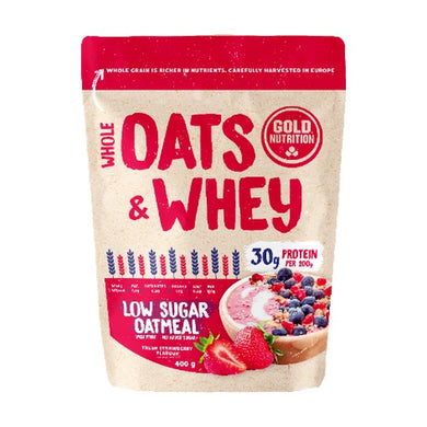 Oats & Whey Gold Nutrion Morango 400g