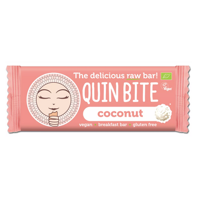 Barra Raw Quin Bite Coco Bio