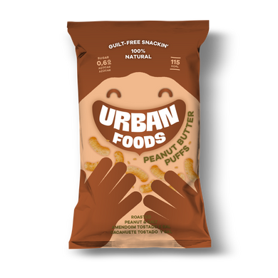 Peanut Butter Puffs Urban Foods