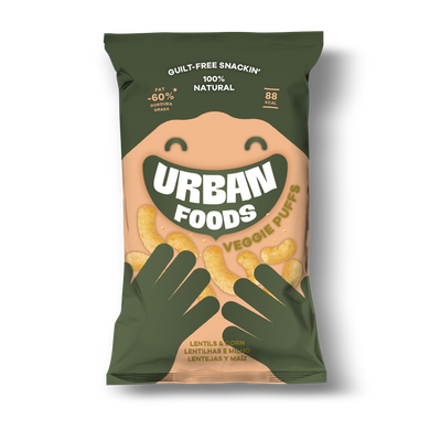 Veggie Puffs Urban Foods