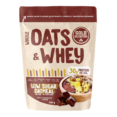 Oats & Whey Gold Nutrion Chocolate 400g