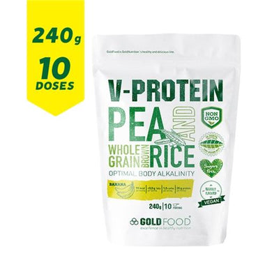 Proteína Vegan Gold Nutrition Banana