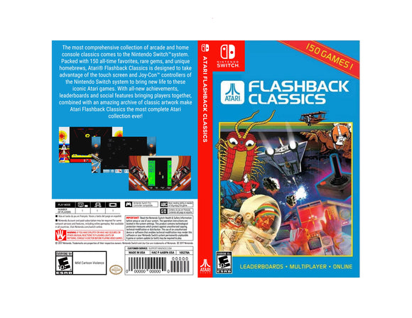 Atari Flashback Classics - Custom Nintendo Switch Art Cover