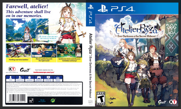 Atelier Ryza - PS4 Cover Art