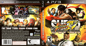 Super Street Fighter IV - PS3 Cover