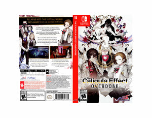 The Caligula Effect - Custom Nintendo Switch Art Cover