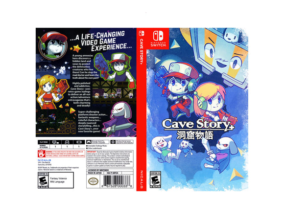Cave Story+ - Custom Nintendo Switch Art Cover