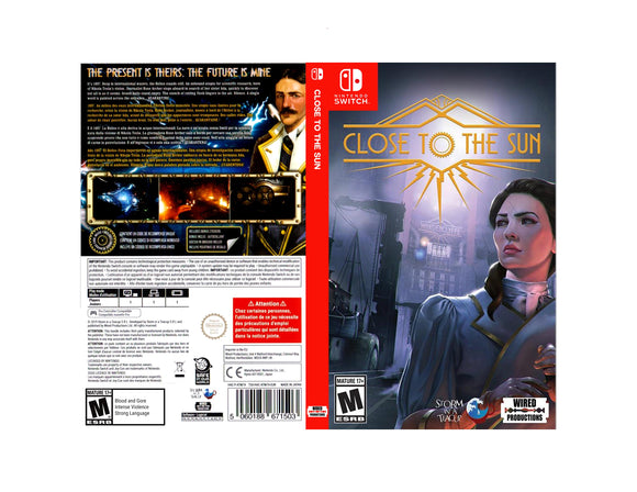 Close to the Sun - Custom Nintendo Switch Art Cover