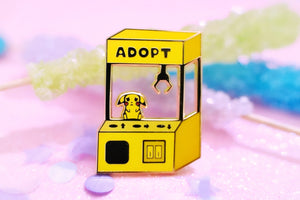 Adopt a Pocket Monster Pikachu Hard Enamel Pin | Pokemon | Sword and Shield