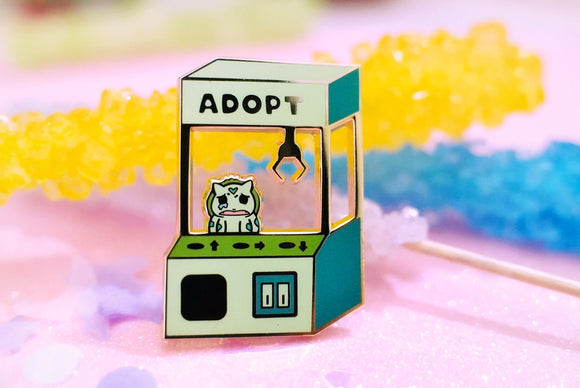Adopt a Pocket Monster Bulbasaur Hard Enamel Pin | Pokemon | Sword and Shield